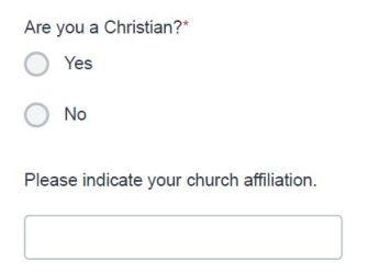 Belmont Religion Question